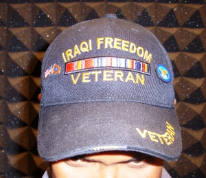 iraq veterans cap