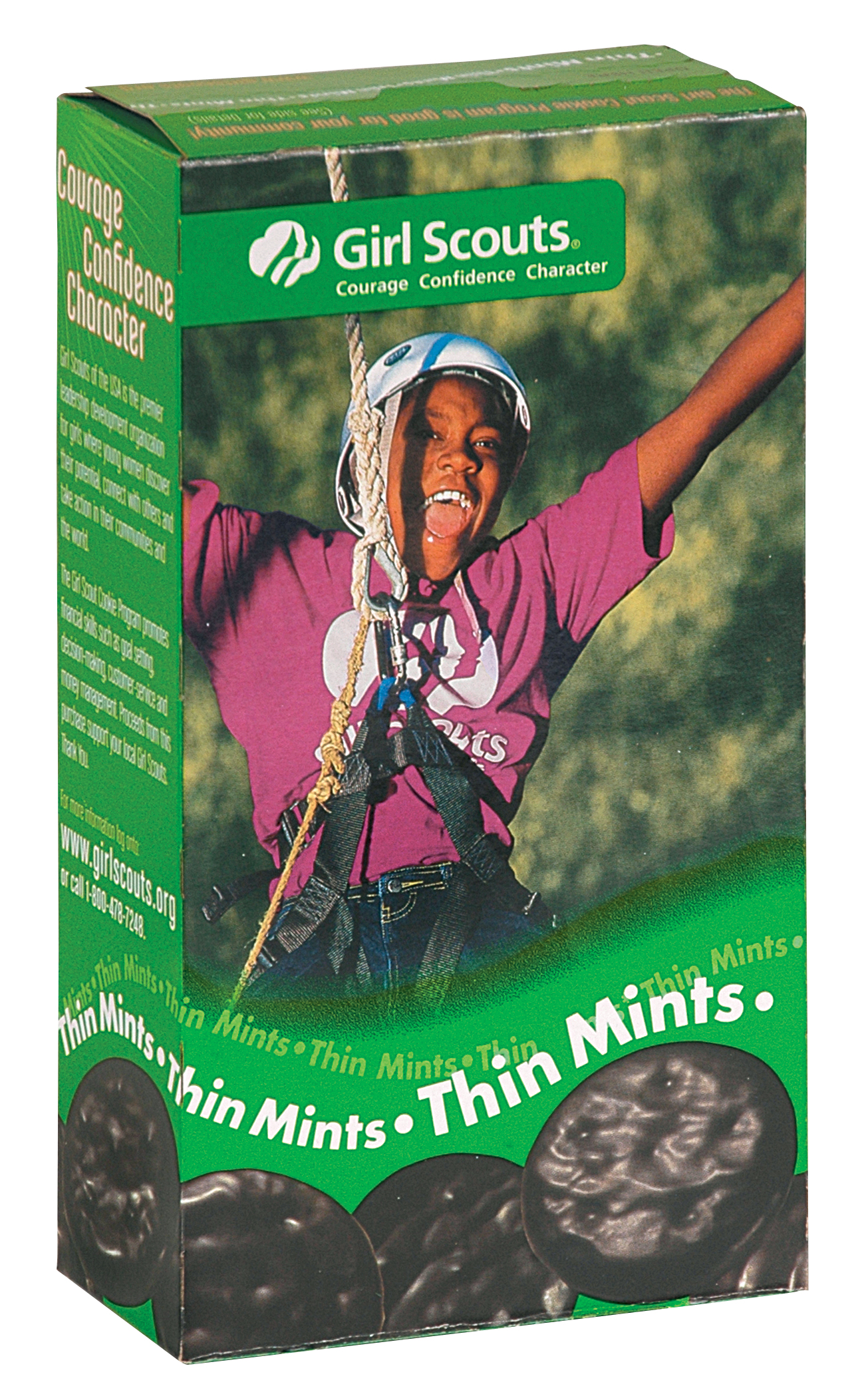 Girl Scout Cookies Thin Mints Box