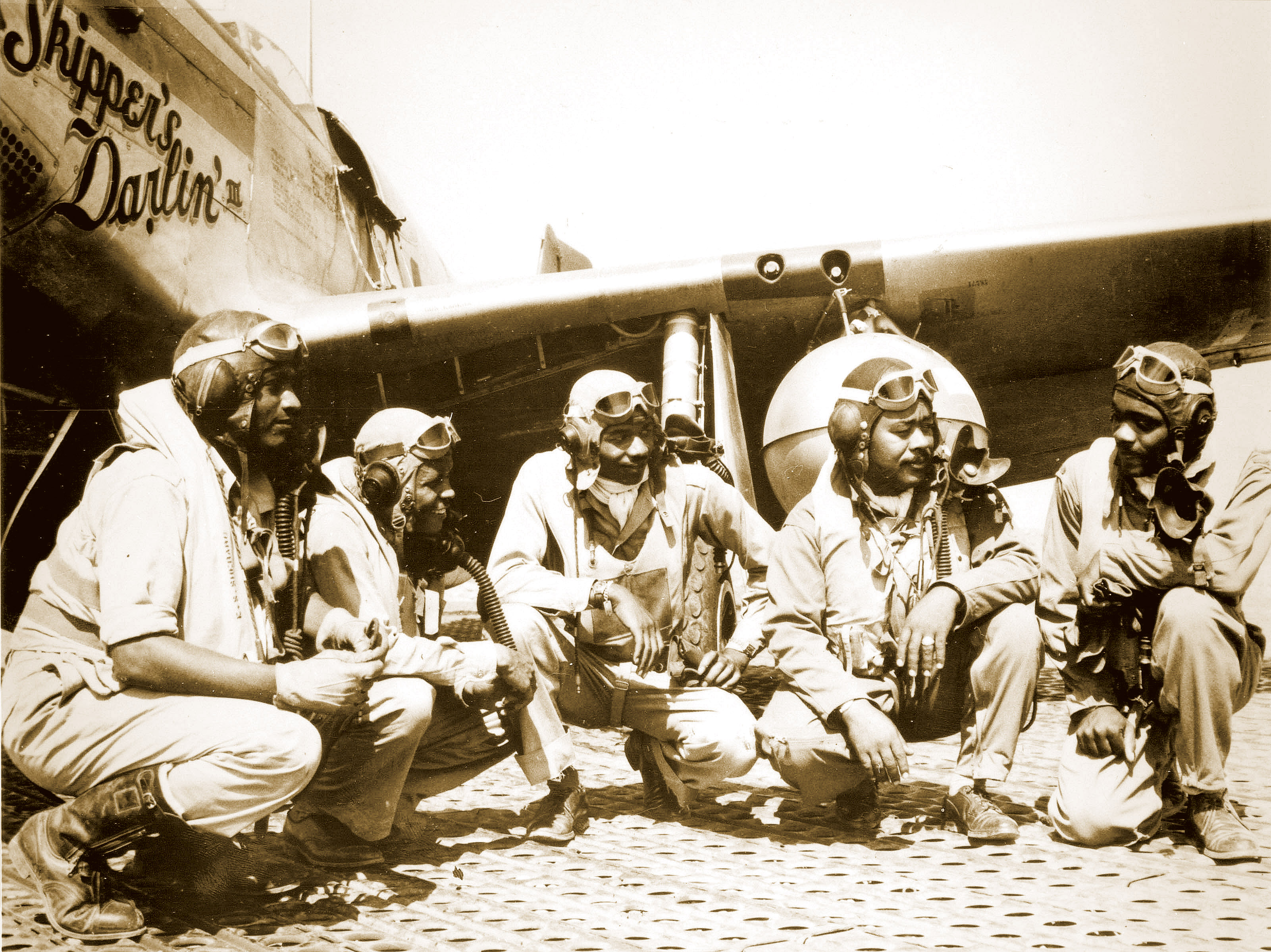 tuskegee airmen mark mission to berlin anniversary off the base pilots of the 332nd fighter group tuskegee airmen