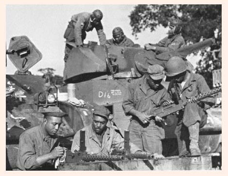 Photo courtesy of the 761st Tank Battalion and Allied Forces ... Wwii Soldiers Returning Home