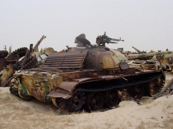"""Photos from """"7 Incredible Tank Graveyards"""" 