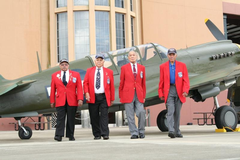 tuskegee airmen off the base original