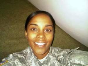Army Spc. Brittany Gordon.