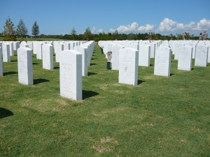 The Sarasota National Cemetery was opened in 2009. Photo courtesy of the American Legion Kirby Stewart Post 24 in Bradenton.