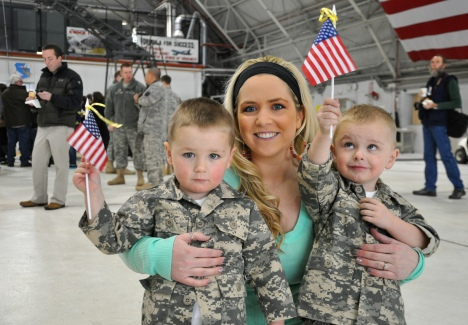 The approximately 300 Soldiers of the Utah National Guard's First Battalion, 211th Aviation returned to Utah from their 12-month deployment to Afghanistan in two groups Thursday, Jan. 17, and Sunday, Jan. 20, respectively, at the Utah Air National Guard Base in Salt Lake City.The mission of the 1-211th (First of the 211th) in Afghanistan was fly its AH-64D Apache Longbow helicopters to conduct aerial route reconnaissance and provide armed escort for U.S. and Coalition aircraft.