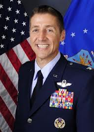 Col.  Scott DeThomas, commander of MacDill Air Force Base and the 6th Air Mobility Wing.