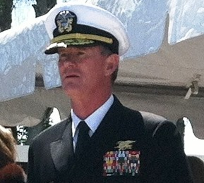 Admiral William McRaven is commander of the US Special Operations Command based at MacDill AFB, Tampa, FL.