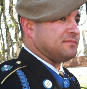 Sergeant First Class Leroy Petry.
