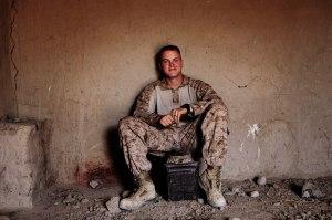 Sgt. Thomas James Brennan from the First Battallion Eighth Marines Alpha (Photo courtesy of the Dart Center)