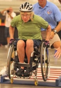 Army Veteran Laura Schwanger is one of 650 wheelchair athletes expected to compete in the 33rd annual Games.
