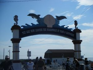 Arch at the north end of the boardwalk at North Wildwood, NJ. Photo credit: Wikimedia.org