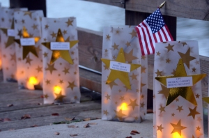 Photo Credit: Gold Star Mother's Day will be observed Sept. 29, 2013, around the nation. Here, during Gold Star Mother's Day in 2012, electric candles light each of the 295 luminaries representing Soldiers from South Carolina who died while on active duty since 2001. The event was hosted by the Survivor Outreach Services, Fort Jackson, S.C.