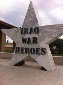 The Cape Coral, FL Iraq War Monument.