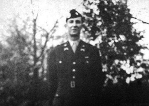 Sam Gibbons while he was serving in the U.S. Army during WWII. Courtesy of the Gibbons Family.
