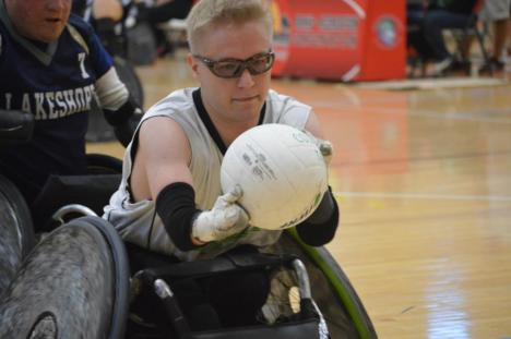 Leevi Ylönen, a member of the Finnish National Wheelchair Rugby Team, was recruited to play with the Tampa Generals.