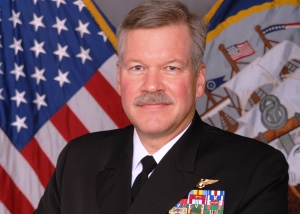 Vice Admiral Mark Fox, deputy commander of U.S. Central Command, is the scheduled keynote speaker. Photo courtesy of the U.S. Navy.