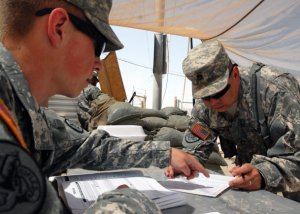 Soldiers are encouraged to register to vote, and to also vote, during an election. However, there are rules that spell out what soldiers can do in the way of campaigning, or participation in other kinds of political activity. Credit/The Army News Service
