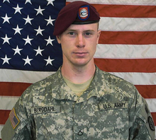Sgt. Bowe Bergdahl. Photo courtesy of Wikipedia.