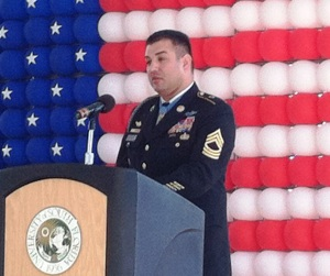 Army Ranger MSgt. Leroy Petry.