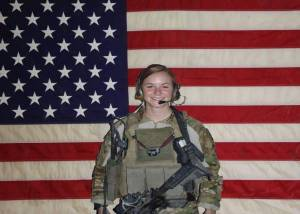 1st Lt. Ashley White was a member of the all-female Army Cultural Support Team. She was killed in Kandahar, Afghanistan in October 2011 while supporting a Ranger night mission. Credit Ashley White Family / Memorial Page