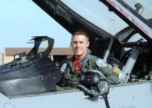 Air Force Academy graduate Capt. James Steel was killed two years ago when his F-16 crashed near Bagram Airfield, Afghanistan. Photo courtesy of the U.S. Air Force.