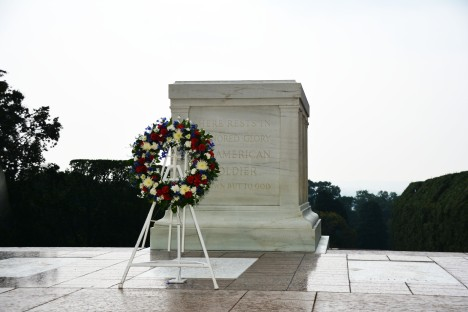 Tomb of the Unknown Soldier at Arlington National Cemetery. Photo courtesy House Committee on Veterans Affairs.