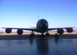 macdill KC-135 tanker backdrop