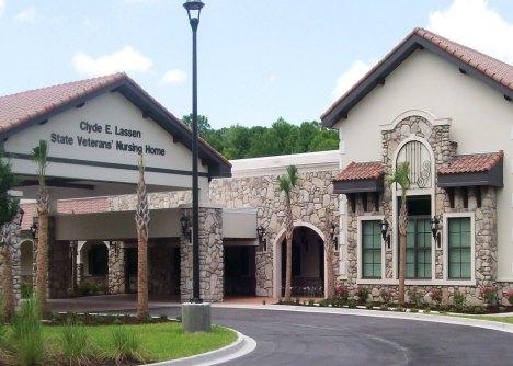 One of Florida's existing VA sponsored nursing homes. Photo courtesy of FDVA.