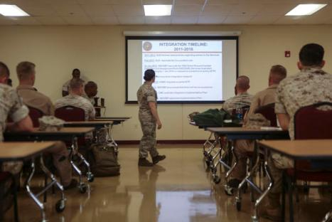 Preparing for change with U.S. Marine Corps Integration Education Plan