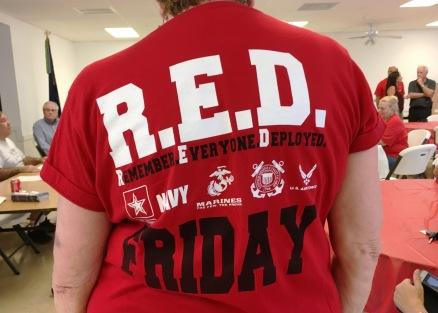 veteran red shirt day